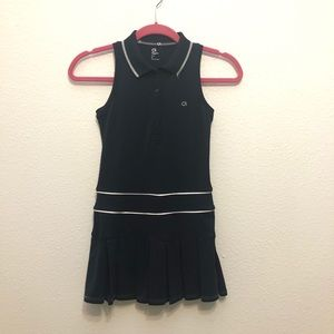 GapFit | girls navy blue pleated dress